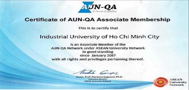 IUH is an Associate Member of the AUN-QA Network: